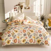 伊迪梦家纺 全棉夏凉单品被套纯棉被罩单件 斜纹精梳棉活性印花床上用品单双人床被芯子套HG503