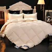 酒店羽绒被白鹅绒被子加厚保暖冬被单人学生鸭绒被双人棉被芯
