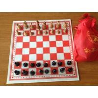 象棋木制棋子大号儿童娱乐余单环保实木象棋