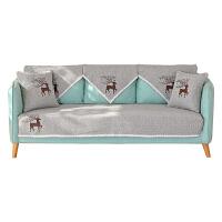 夏季沙发垫套包套四季通用布艺沙发巾罩盖欧式坐垫子靠背