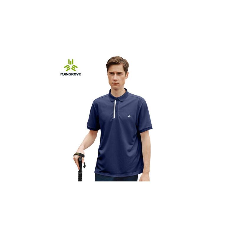 户外多功能polo衫男士吸湿快干短袖翻领上衣男 品质保证 售后无忧