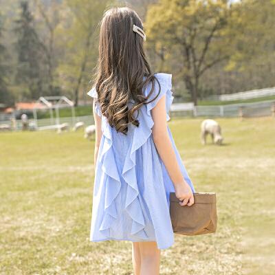女童连衣裙中大童儿童装夏装女孩裙子