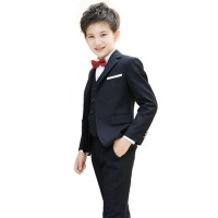 花童婚礼服小孩主持演出服装 男童西装礼服套装儿童西服韩版