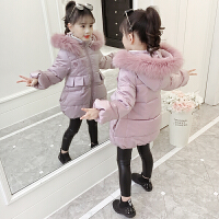 儿童2018新款韩版女孩中大童短款公主棉袄厚款外套