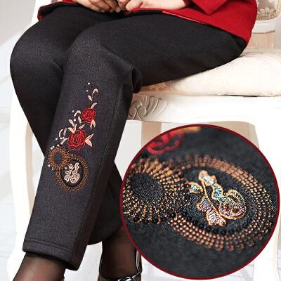 妈妈裤子冬装中老年女裤加绒加厚70-80岁奶奶装外穿棉裤婆婆宽松 发货周期:一般在付款后2-90天左右发货,具体发货时间请以与客服协商的时间为准