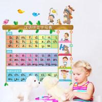 优选可移除墙贴儿童房客厅卡通宝宝量身高尺墙面装饰贴画动物身高贴纸 大