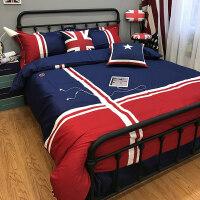 儿童四件套男孩床单床笠欧美风1.8m被套个性创意2.0m床品