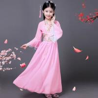 写真舞蹈演出服 儿童古装仙女服装汉服公主贵妃改良小女孩影楼表演
