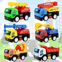 儿童玩具车工程车套装组合消防车吊车挖土车搅拌车挖掘机玩具汽车