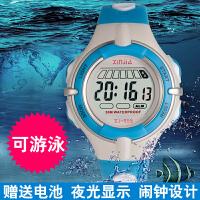 时尚儿童手表男孩女孩电子表生活防水学生数字式运动手表夜光男童女童
