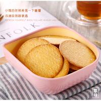 【冬己酥香薄脆饼干190g*1包】韩国手工网红零食绿豆味原味独立包装甜香超薄小冬已