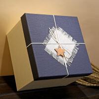 礼品盒包装盒长方形正方形包装礼品盒子大号中号小号礼物盒送爱人送女友
