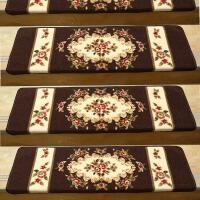 欧式木楼梯踏步垫婚礼布置免胶自粘防滑台阶贴礼品结婚用的长方形脚垫子中秋节红地毯地垫定制礼物