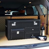 汽车后备箱储物整理箱子多功能车载后背鞋收纳盒车内尾箱SUV轿车