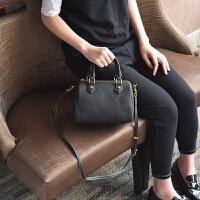 女包2018新款 秋冬休闲手提包包韩版波士顿包枕头包斜挎单肩包