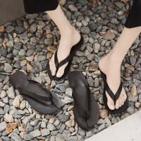 拖鞋女外穿夏时尚新款仙女风网红学生平底凉拖时尚百搭夹趾人字拖