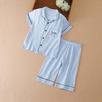 女童家居服夏装宝宝空调内衣套装中大童睡衣两件套