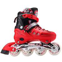 溜冰鞋成年旱冰鞋儿童全套装单直排轮滑鞋初学者男女滑冰