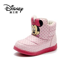 鞋柜/迪士尼童鞋儿童雪地靴2018秋冬中小童保暖靴子女童1