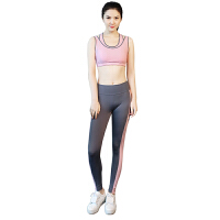2018035037919瑜伽服套装速干健身房服跑步裤运动上衣女显瘦秋冬瑜珈服