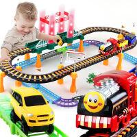 【支持礼品卡】拖马斯轨道车小火车套装儿童电动赛车益智4男孩3-6周岁7玩具汽车k0a