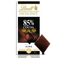 [当当自营] 瑞士进口 Lindt 瑞士莲 85% 黑巧克力 100G
