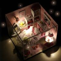创意木制工艺品童年女孩儿童玩具礼物diy手工制作材料