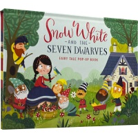 Fairy Tale Pop-Up Book Snow White and The Seven Dwarves 经典童话