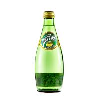 [当当自营] 法国进口 巴黎水柠檬味天然含汽矿泉水330ml*24 整箱(Perrier) 矿泉水