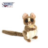 【当当自营】HANSA仿真毛绒公仔 头可转动的眼镜猴高20cm