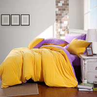 家纺欧式纯色保暖水晶天鹅绒四件套加厚素色珊瑚绒双人床上用品秋冬季