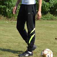 小脚足球训练裤男秋季薄速干运动裤收腿弹力裤健身长裤骑行跑步裤
