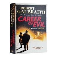 邪恶事业 英文原版 Career of Evil 罪恶生涯 英文版推理小说 JK罗琳化名作品 正版进口英语书籍