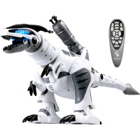 遥控恐龙电动玩具仿真机械恐龙机器人会唱歌带音乐儿童玩具
