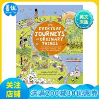 【预订】Everyday Journeys of Ordinary Things 普通事物的日常旅行