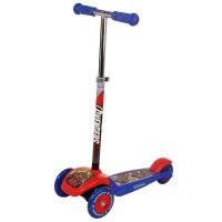 迪士尼 蜘蛛侠摇摆车漫威儿童卡通滑板车防滑可调节踏板车