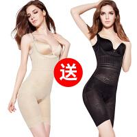 产后超薄款收腹束腰燃脂塑身夏季衣服连体无痕美体塑形减肚子