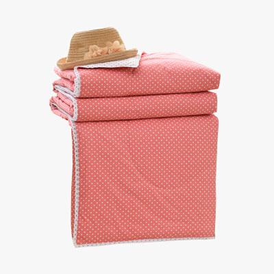 当当优品家纺 新疆棉花夏凉被 可水洗空调被 粉黛(复古粉)150*200cm当当自营 100%新疆棉花填充 蓬松柔软 透气排湿 可水洗不变形
