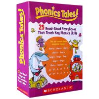 学乐自然拼读故事套装25册 英文原版绘本儿童英语启蒙绘本 Phonics Tales 学乐教材分级阅读读物Scholas