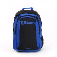 Wilson/威尔胜Match系列 网球包 双肩包 蓝黑色 双肩网球包 WRZ820495