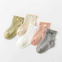 春夏薄款新生儿宝宝防滑袜子婴儿袜子松口袜