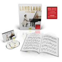 正版 郎朗专辑 Piano Book 钢琴书 2CD+钢琴曲谱 限量版带编号
