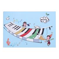 B5少儿横版乐谱练习本宽格五线谱本儿童音乐学习本子带乐理可定做