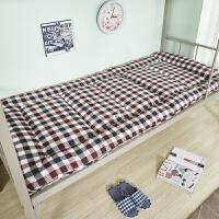 加厚防潮折叠床垫被床褥子0.9单人1.2米90cm大学生宿舍寝室上下铺