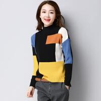 韩版毛衣套头宽松女冬潮2017新款学生时尚针织打底衫长袖外穿秋冬