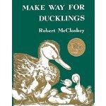 【英文原版】让路给小鸭子 (1942年 凯迪克金奖) Make Way for Ducklings