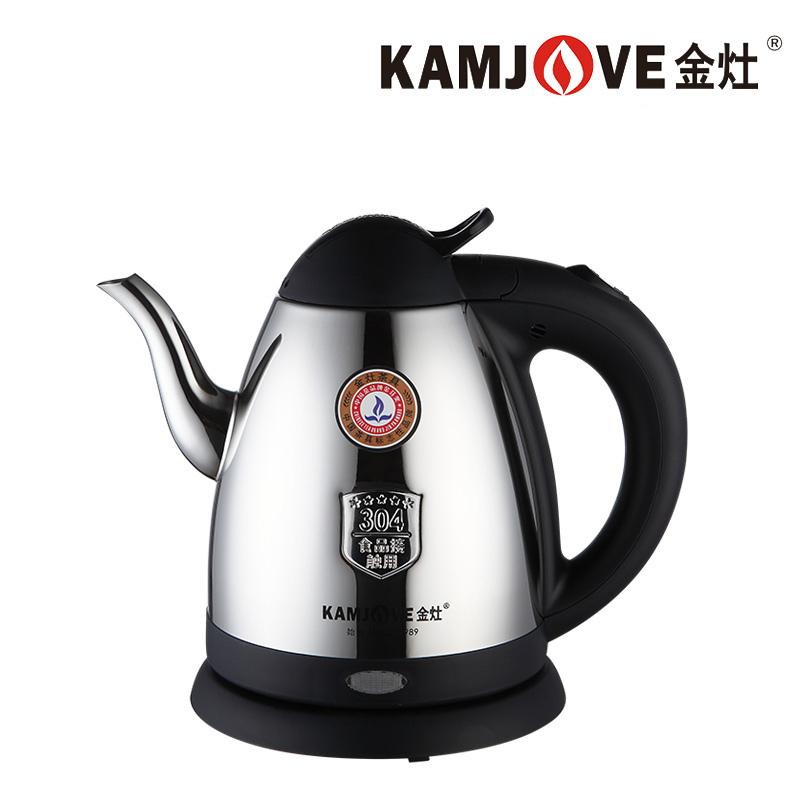 KAMJOVE/金灶 T-76 电热水壶不锈钢电茶壶开水壶自动烧水壶泡茶壶