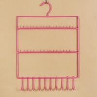 饰品收纳架展示架铁艺壁挂矩形架子 项链耳环耳钉手链首饰挂架
