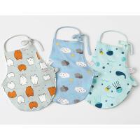 婴儿围裙0-1-2岁婴儿肚兜男女宝宝护肚秋冬厚款无骨四季