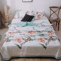 幻醒家纺 貂绒毛毯珊瑚绒毯子加厚保暖床单人薄款午睡被子盖毯法莱绒保暖 200*230cm